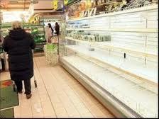 Дефицит продуктов возникает в связи с урегулированием цен