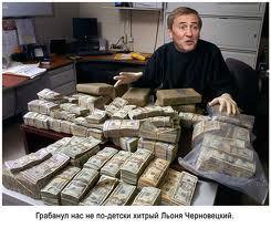 Как Черновецкий с молодой командой разворовал Киев (схемы)
