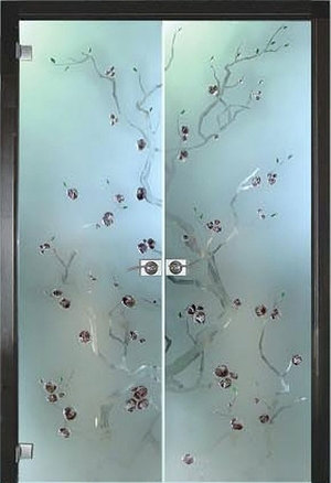 Эксклюзивные стеклянные перегородки для ванной