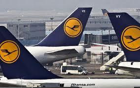 Lufthansa спустится на землю на 8 часов