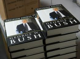 Книга Буша уже разошлась тиражом более двух миллионов экземпляров