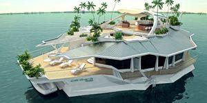 Искусственный остров за $6,5 млн на заказ