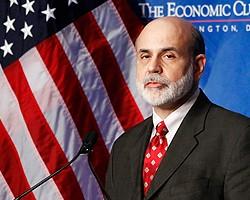 Б.Бернанке: Рост экономики США в 2011 г. составит 4%