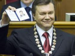 Сегодня - год со дня инаугурации Януковича