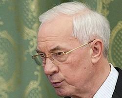 Н.Азаров: Для Украины важно участие Чехии в модернизации ГТС