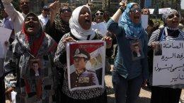 В Египте прошел митинг на поддержку Мубарака