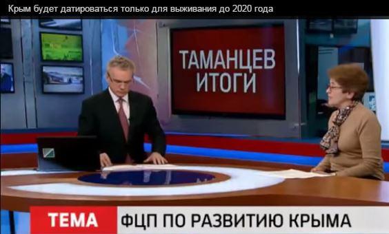 Крым самый дотационный район РФ