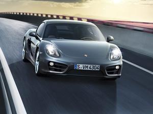 В Лос-Анджелесе показали купе Porsche Cayman