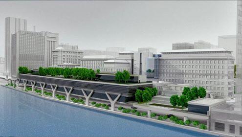 В Манхеттане стартовала стройка нового здания для университета Рокфеллера.