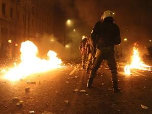 Афины: бои против экономии