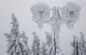 Европу накрыли снег и морозы