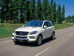 Mercedes-Benz M-klasse: не надо грязи