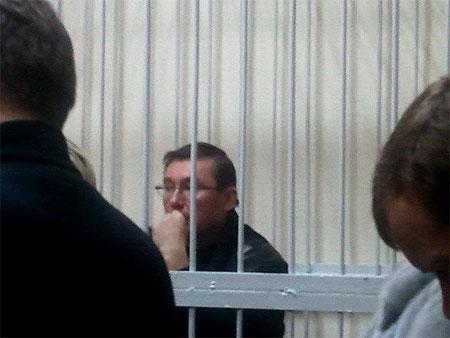 Луценко взят под стражу на 2 месяца
