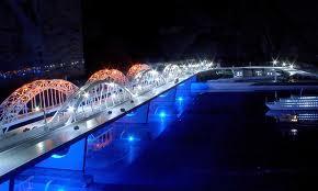 В Киеве открыли автомобильное движение через новый мост
