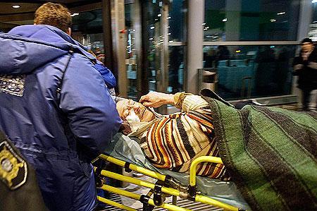 Взрыв в Домодедово (ВИДЕО - скрытая камера)