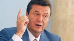 Янукович пожелал беларусам мира, добра и процветания, а Лукашенко - успехов