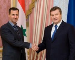 В.Янукович: Украина и Сирия подпишут соглашение о ЗСТ в январе-феврале 2011 г