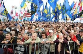 Политики покупают людей для участия в митингах 22 января 2011 года