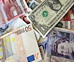 Объем валютных расчетов сократился на 20%