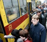 Проезд в трамвае и троллейбусе дорожает в два раза