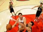 Клубы NBA тренируются на европейских командах