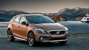 Шведы показали внедорожную версию пятидверки Volvo V40