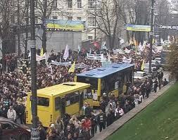 Часть митингующих предпринимателей намерена 29 ноября начать бессрочную политическую акцию