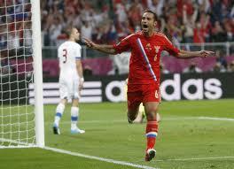 Сборная России стартовала на Евро с разгромной победы над чехами