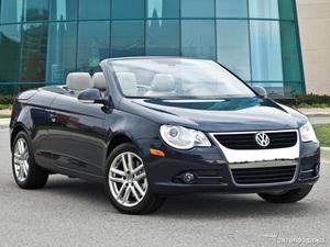 Volkswagen попрощается с кабриолетом Eos