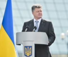 Порошенко соберет миллиард на восстановление Донбасса