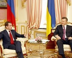 В.Янукович и Д.Медведев не смогли договориться о создании СП