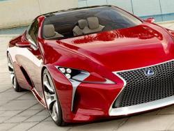 Lexus показал  гибридный купе
