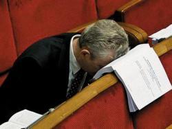 Незачет: парламент вместо реформ принял лоббистские законы