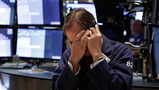 Американские фондовые индексы упали до восьмимесячных минимумов