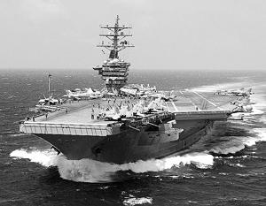 Авианосная ударная группа ВМС США направилась в Персидский залив