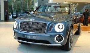 Bentley презентовала концепт люксового внедорожника