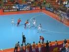 Футзал: испанцы стали первыми финалистами