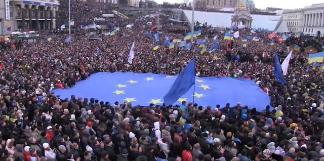 В центр Киева вышло более полтора миллиона человек