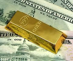 Цены на золото опустились ниже $1300