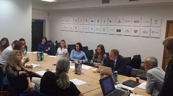 Вчера прошла встреча о реформах ИС в Украине