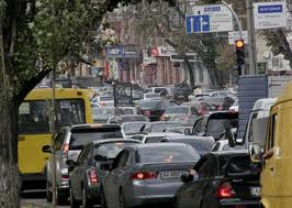 С 25 января в Киеве перекроют 15 улиц