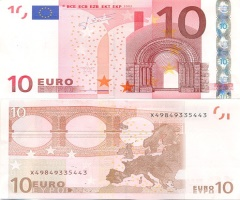 Евро достиг двухлетнего максимума