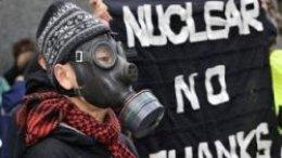 В Токио митинговали против атомной энергетики