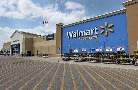 Падение акций Wal-Mart заставило Dow опуститься ниже отметки 17,000