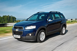 Chevrolet Captiva: смена имиджа