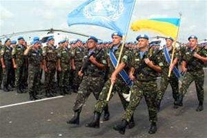 Украинцев признали лучшими миротворцами