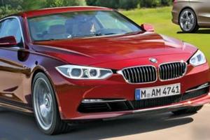 Появились первые снимки BMW четвертой серии