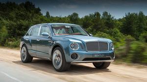 Внедорожник от Bentley сменит имя и внешность