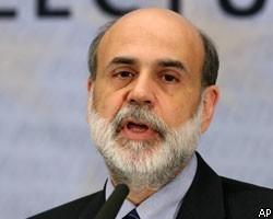 Б.Бернанке заявил о необходимости поддержки экономики CША