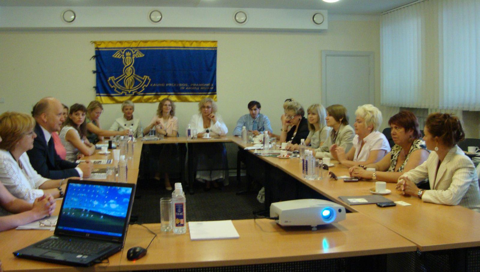 Нежинщину посетила делегация из Латвии
